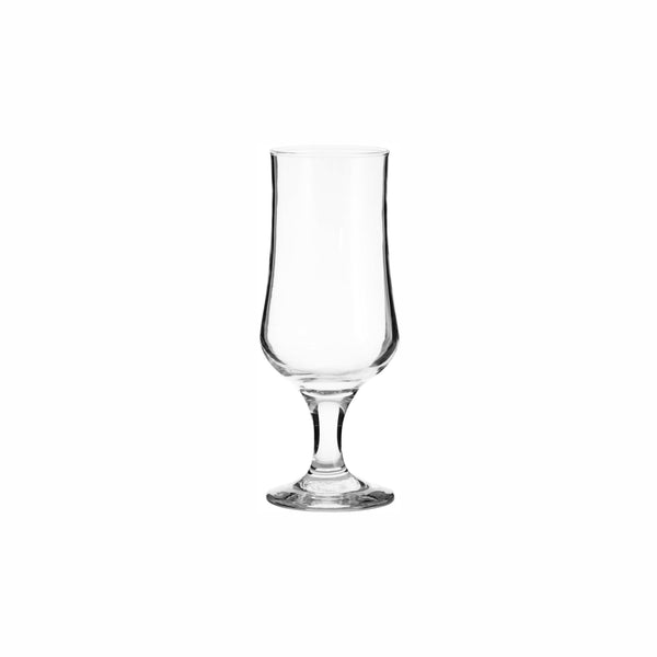 REGENT BLOOM STEMMED BEER GLASS, (370ML)