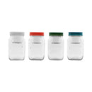 CONSOL JAR-IN-JAR WITH ASSORTED COLOURED LIDS (1L)