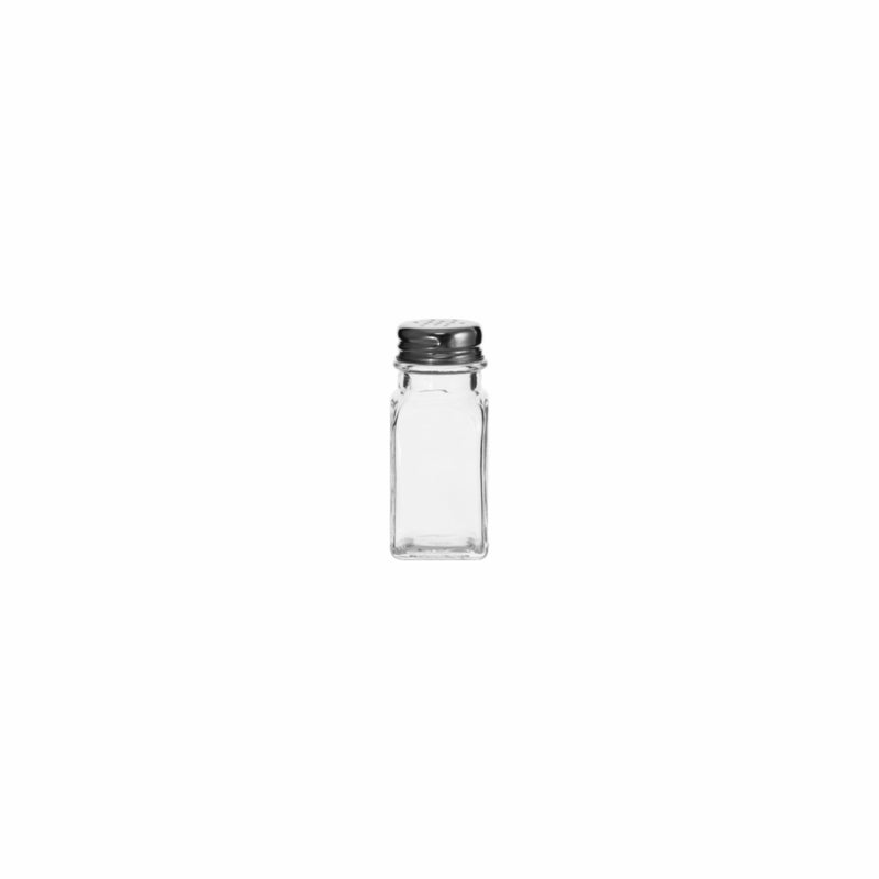 REGENT CLEOPATRA SALT & PEPPER GLASS SHAKERS (70ML) [BULK CATERING]
