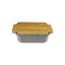 APPOLIA DARK GREY SQUARE COOK & STOCK WITH BAMBOO BOARD, 4LT (343X293X91MM)