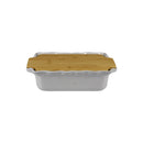 APPOLIA GREY RECT. COOK & STOCK WITH BAMBOO BOARD, 2.7LT (335X204X89MM)