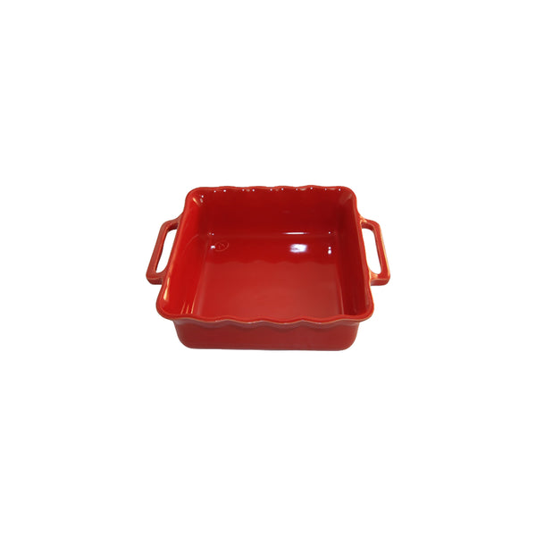 APPOLIA SQUARE BAKING DISH CHERRY, 1.6LT (245X208X66MM)