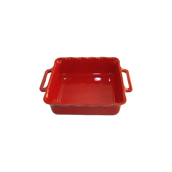 APPOLIA CHERRY SQUARE BAKING DISH, 2.2LT (275X233X68MM)