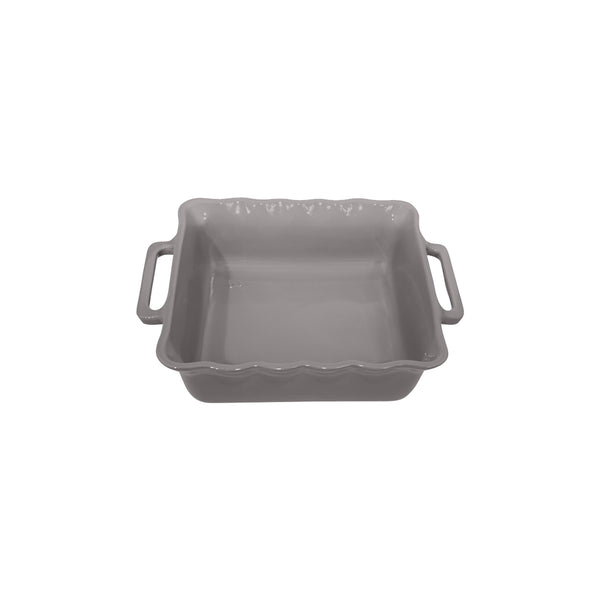 APPOLIA SILVER GREY SQUARE BAKING DISH (2.2L) (275X233X68MM)