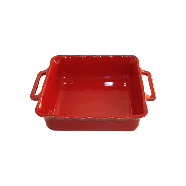 APPOLIA CHERRY SQUARE BAKING DISH, 4.6LT (345X296X84MM)