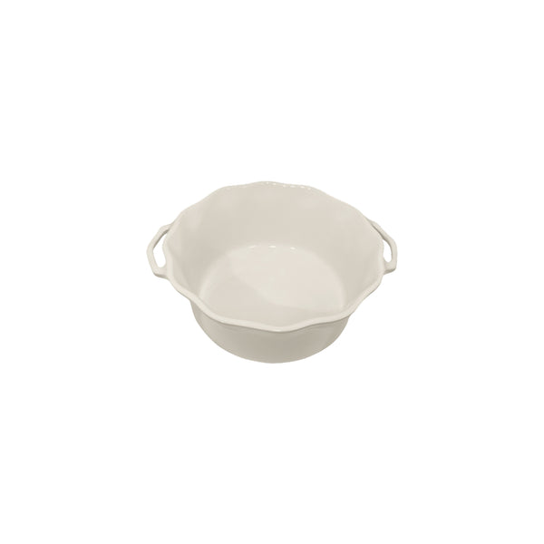 APPOLIA OFF WHITE SOUFFLE DISH (2.2L) (253X220X94MM)