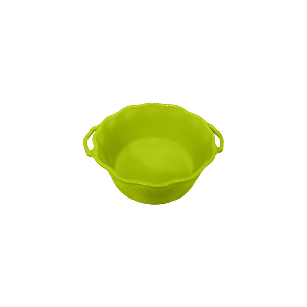 APPOLIA APPLE GREEN SOUFFLE DISH (2.2L) (253X220X94MM)