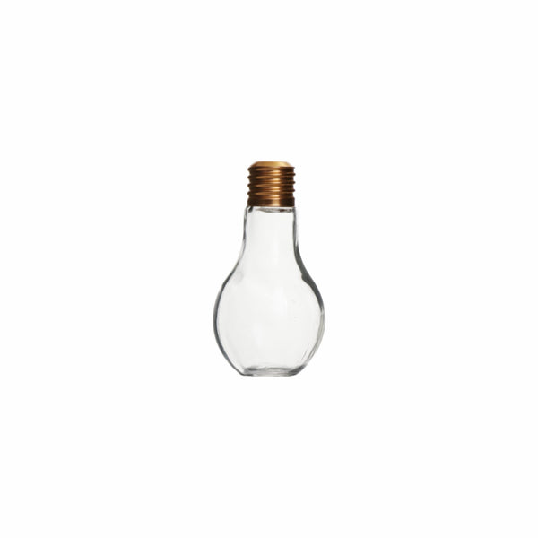 REGENT GLASS GLOBE BOTTLE 400ML (175X85MM)