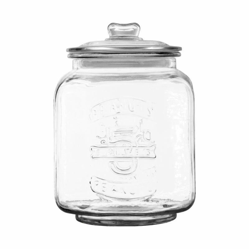 REGENT LARGE OCTAGONAL PEANUTS GLASS JAR (7L) (210X210X300MM)