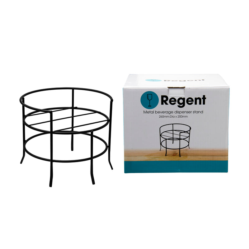 REGENT METAL STAND FOR BEVERAGE DISPENSER, (200X260MM DIA)