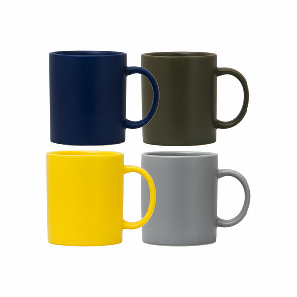 REGENT COFFEE MUG WITH MATT FINISH IN ASSORTED COLOURS (390ML)