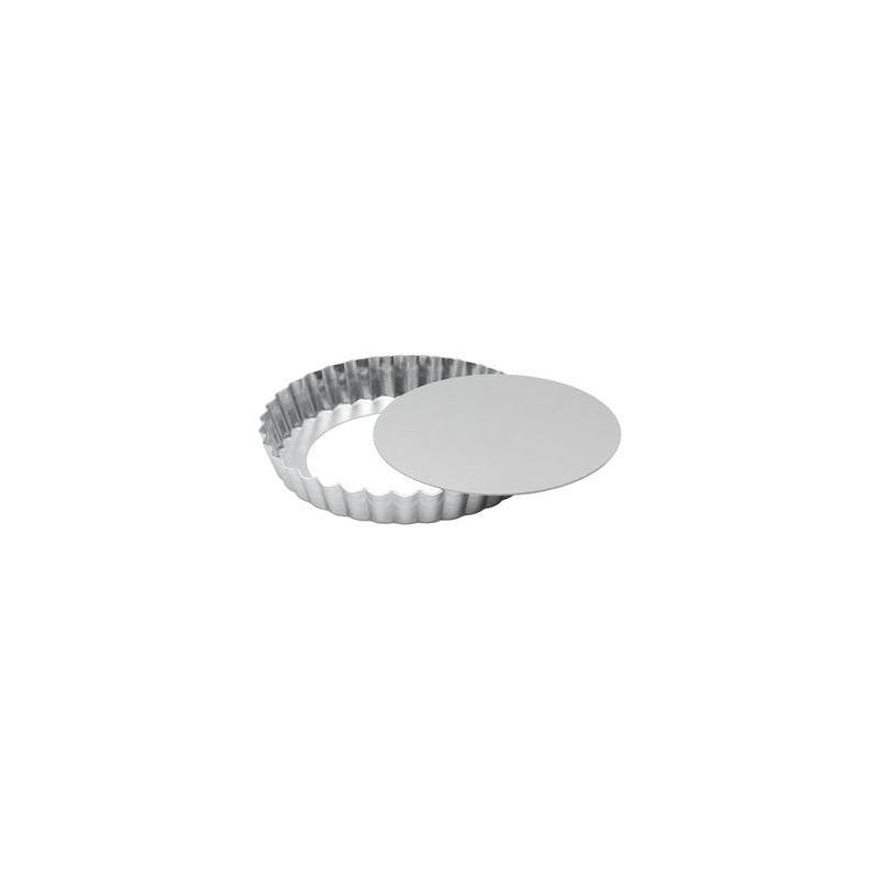 REGENT BAKEWARE TART PAN WITH LOOSE BASE ALUM. (155MM:DX25MM)