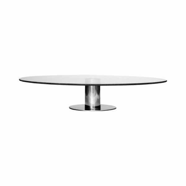 REGENT GLASS CAKE STAND/DECORATING TURNTABLE (350MM:DIA)