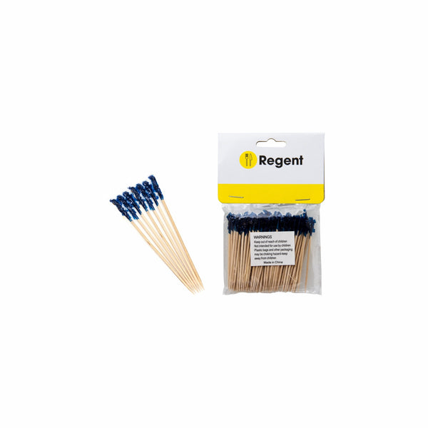 REGENT PARTY COCKTAIL STICKS WOODEN, 100PCS
