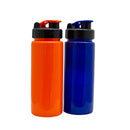 TORRENT PLASTIC BOTTLE WITH FLIP-TOP CAP ORANGE (600ML)