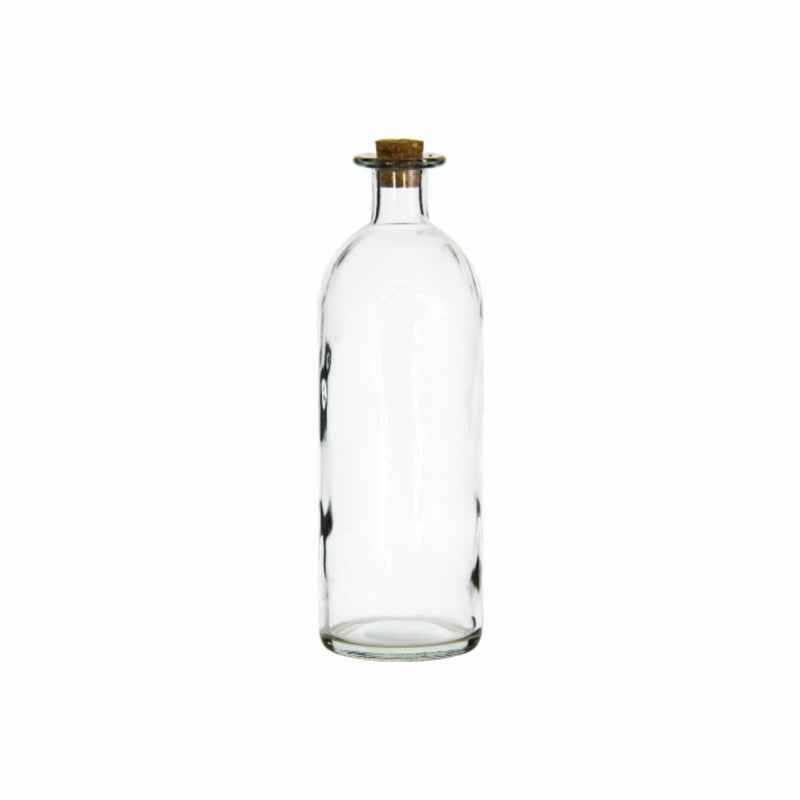 REGENT GLASS BOTTLE WITH CORK LID, 1.1LT (2701X87MM DIA)