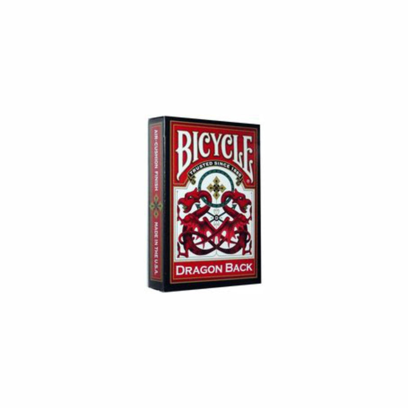 BICYCLE DRAGON BACK PLAYING CARDS (RED)