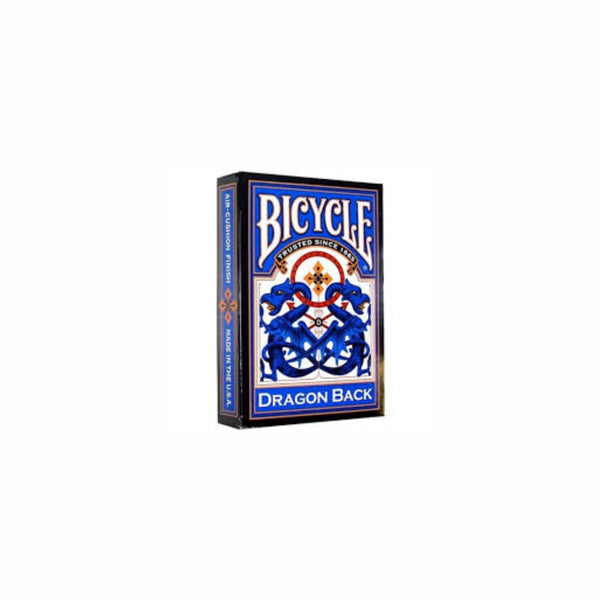 BICYCLE DRAGON BACK PLAYING CARDS (BLUE)