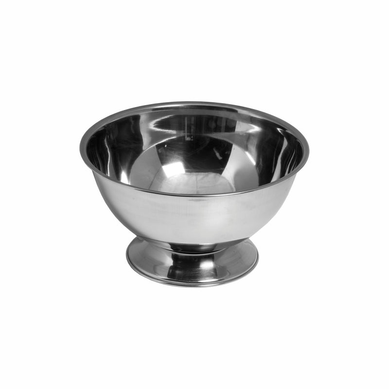 BAR BUTLER FOOTED CHAMPAGNE/ICE BOWL WITHOUT HANDLES S/STEEL 4L (285MM:DX150MM)