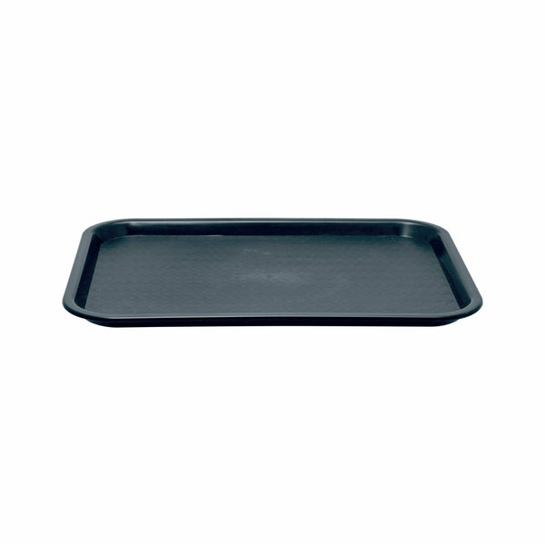 BAR BUTLER BLACK FAST FOOD TRAY PP (355X457MM)