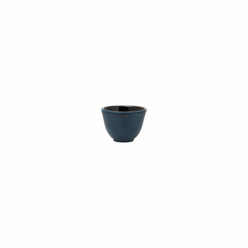 REGENT CAST IRON CHINESE TEA CUP BLUE (130ML) (80MM:DX55MM)