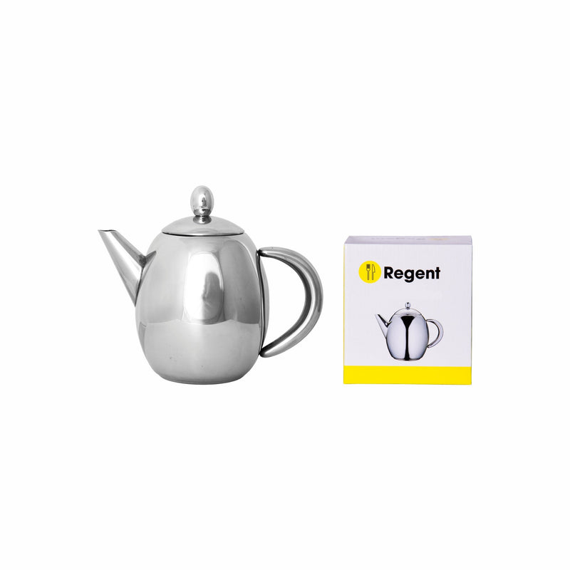 REGENT OLIVE TEA POT STAINLESS STEEL (500ML)
