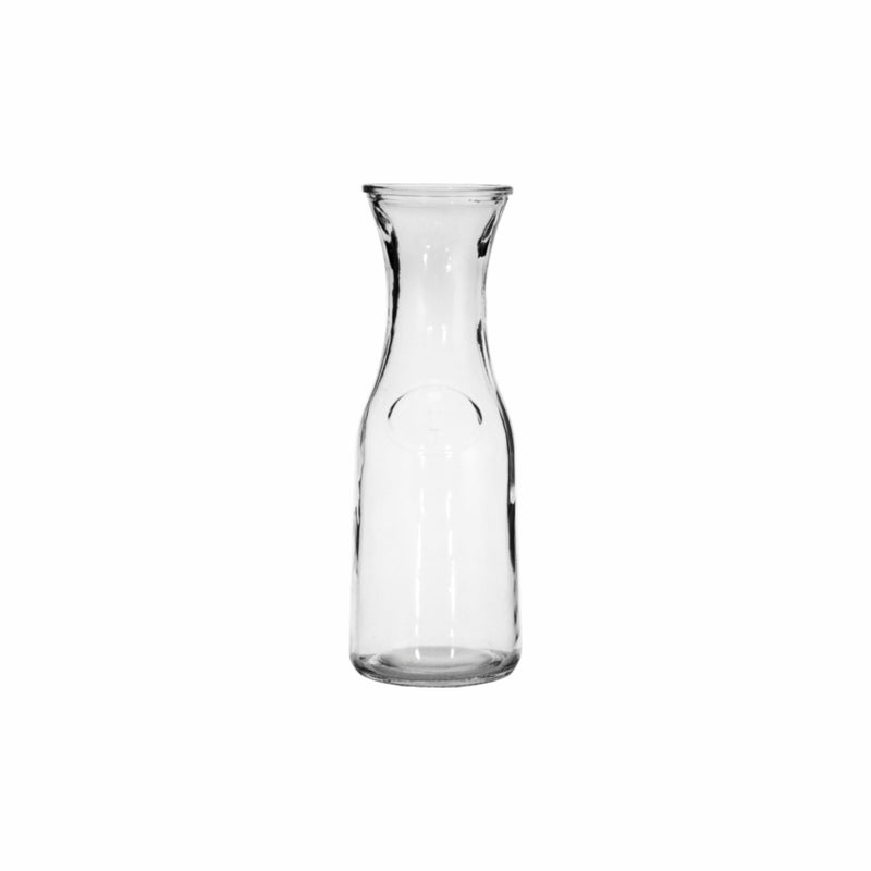 REGENT GLASS CARAFE, 6 PACK (1L) (95MM:DX270MM)