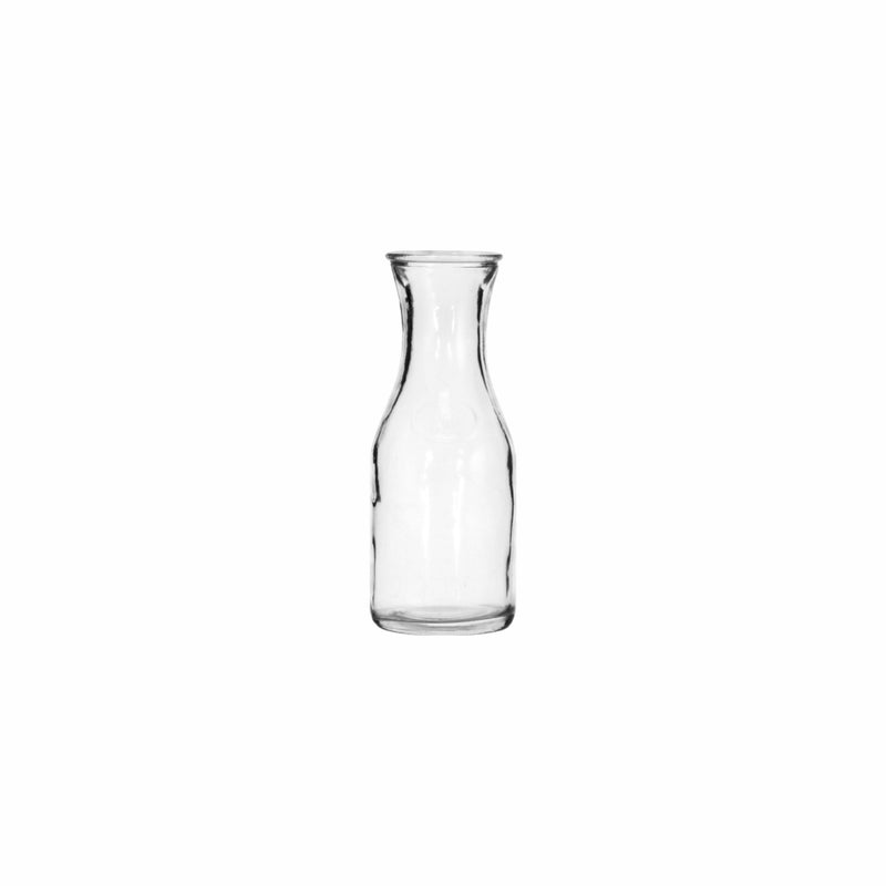 REGENT GLASS CARAFE, 6 PACK (500ML) (75MM:DX200MM)