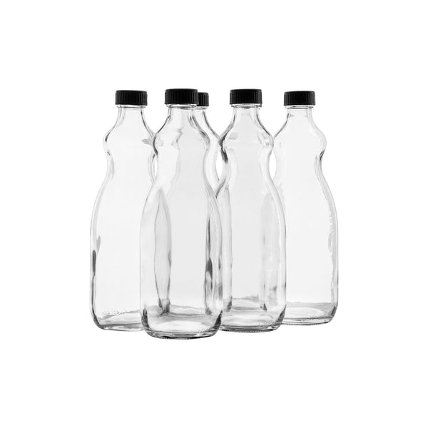 CONSOL BOTTLE UTILITY WITH BLACK LID, 6 PACK (750ML)