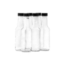 CONSOL WORCESTER SAUCE BOTTLE WITH BLACK LID 6 PACK, 250ML (192X57MM DIA)