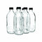 CONSOL PHARMACEUTICAL BOTTLE WITH BLACK LID, 6 PACK (500ML)