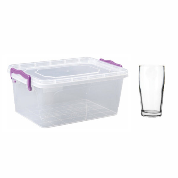 REGENT EASI STORE WITH WILLY TUMBLERS, 24 PIECES (340ML)