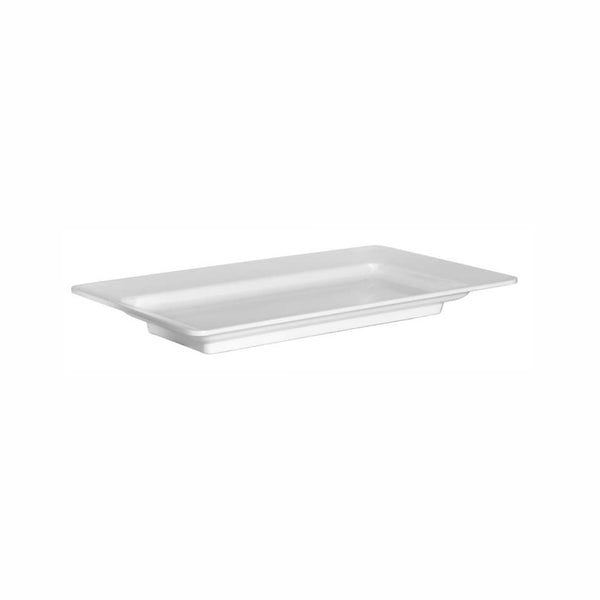 REGENT MELAMINE SERVING PLATTER RECT. WHITE, (492X273X51MM)