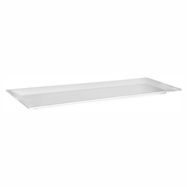 REGENT MELAMINE LONG SERVING PLATTER RECT. WHITE, (745X248X28MM)