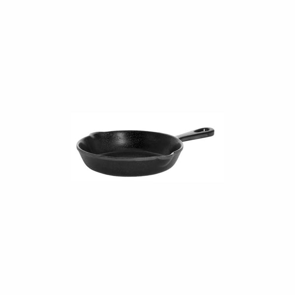 REGENT MELAMINE SERVING FRYING PAN BLACK, (150MM:D/170X252X35MM)
