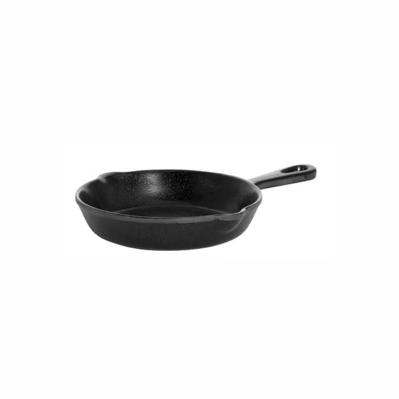 REGENT MELAMINE SERVING FRYING PAN BLACK (190MM:D/2150X315X35MM)
