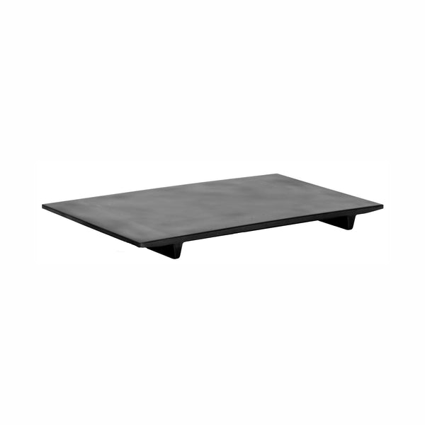 REGENT MELAMINE SUSHI SERVING PLATE MATT BLACK SLATE, (327X188X24MM)
