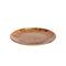 REGENT MELAMINE ROUND PLATTER WITH WOOD DECAL, (353MM:D)