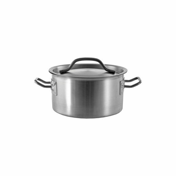 REGENT COOKWARE CASSEROLE WITH WELDED HANDLES S/STEEL 1.7L (160MM:DX85MM)