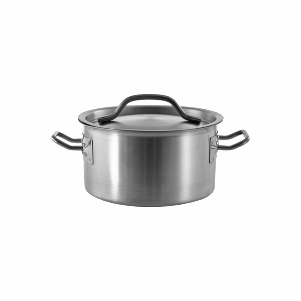 REGENT COOKWARE CASSEROLE WITH WELDED HANDLES S/STEEL 3.9L (180MM:DX153MM)