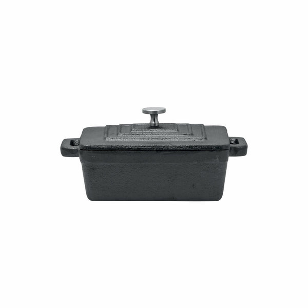REGENT COOKWARE CAST IRON RECT. MINI POT WITH LID (160/125X90X45MM)