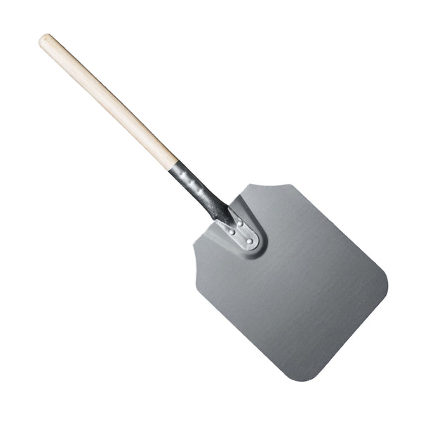REGENT PIZZA PEEL ALUMINIUM WITH WOODEN HANDLE (229X279X660MM)