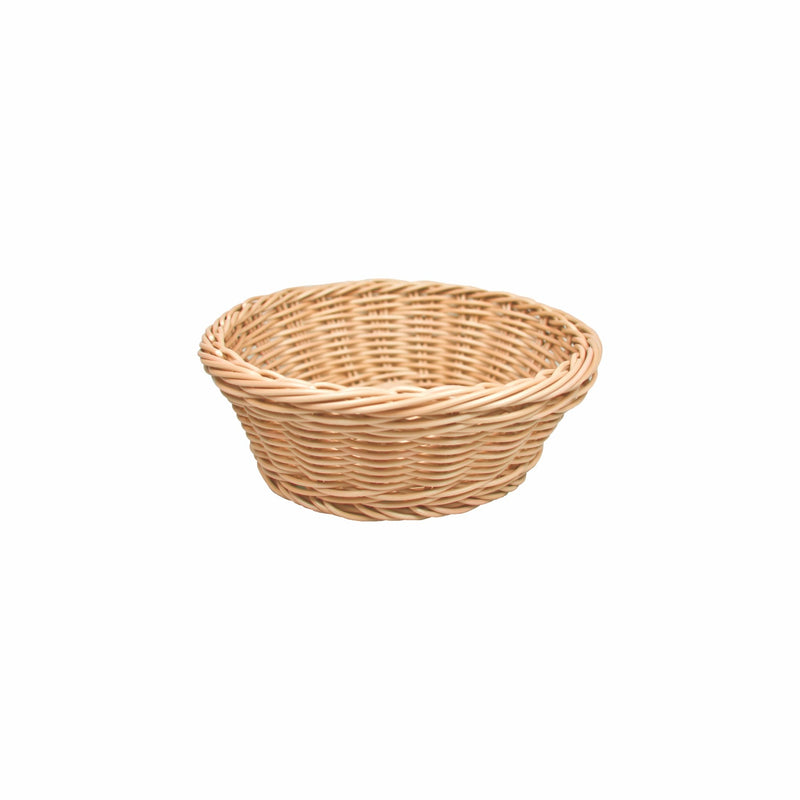 REGENT WOVEN BASKET ROUND NATURAL PP (210MM:DIAX80MM)