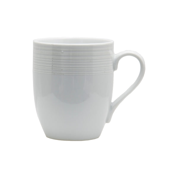 REGENT NORDIC WHITE MUG, 4 PIECE SET (340ML)