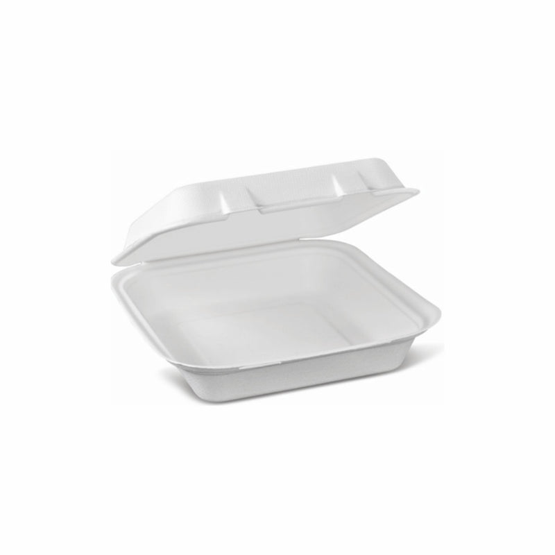 REGENT DISPOSABLE BAGASSE LUNCH BOX 50PC 330X230X32MM