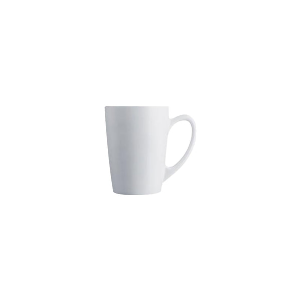 LUMINARC NEW MORNING TEMPERED MUG WHITE  (320ML)