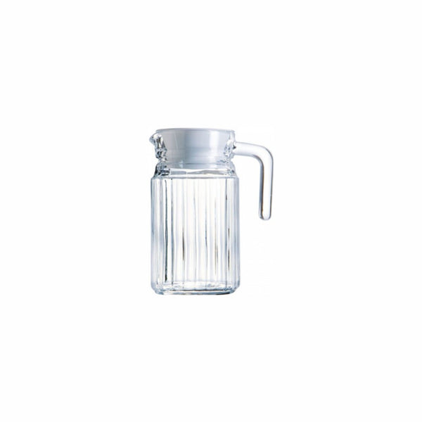 LUMINARC JUG WITH LID (500ML)