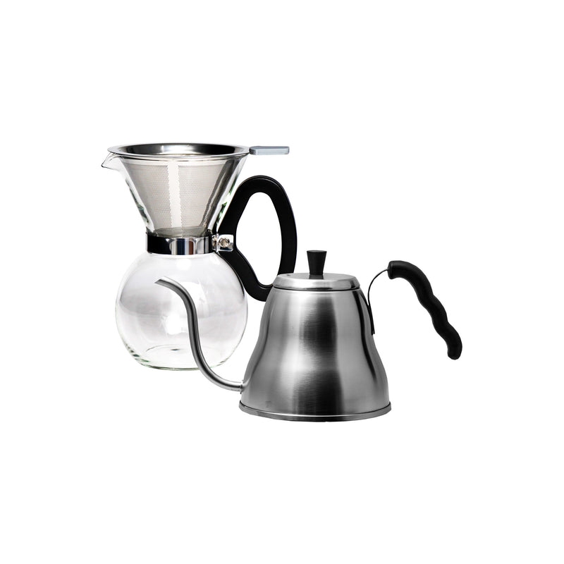 REGENT COFFEE POUR OVER DRIP KETTLE 1LT AND 6 CUPS