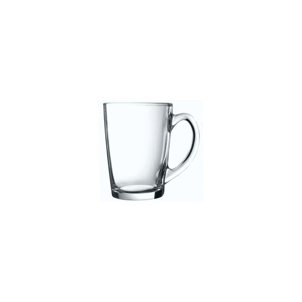 LUMINARC NEW MORNING TEMPERED MUG CLEAR 320ML