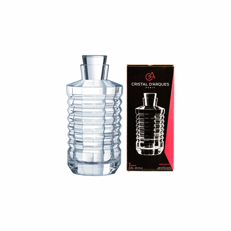 CRISTAL DARQUES ARCHITECTE DECANTER (750ML) (100MM:DIAX205MM:H)